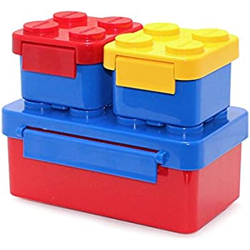 lego lunch box blue childrens lunch boxes kitchen dining. Black Bedroom Furniture Sets. Home Design Ideas