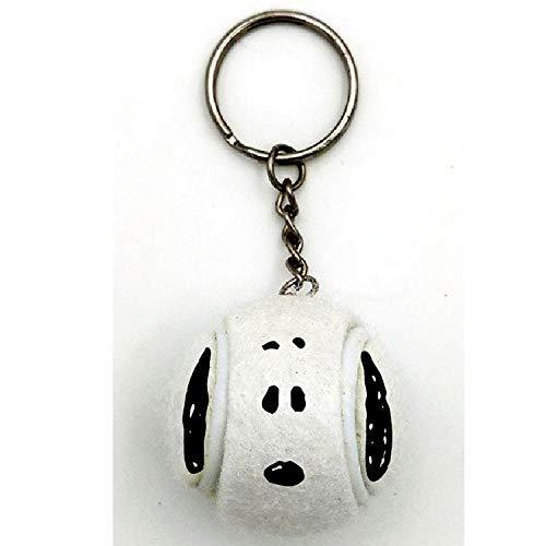 NAKAJIMA CORPORATION (NAKAJIMA CORPORATION) Peanuts Snoopy Tennis Ball Keychain Key Charm Mascot