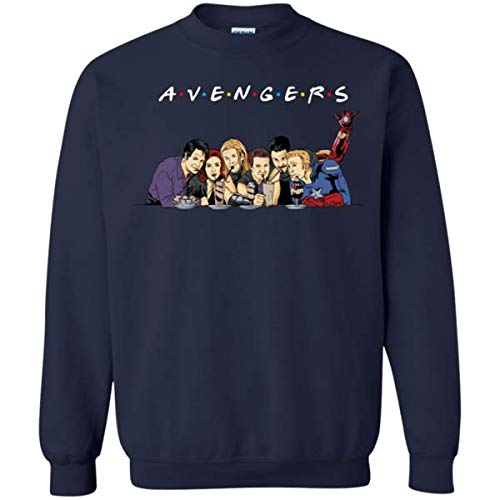 Avengers Friends Sweatshirt Friends TV Show