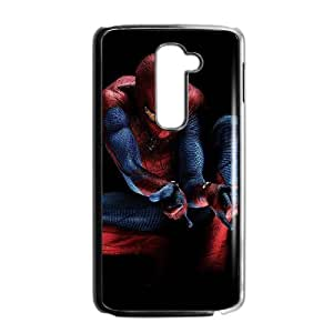 LG G2 phone cases Black The Amazing Spiderman cell phone cases Beautiful gifts YWLS0493573