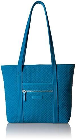 Vera Bradley Microfiber Small Vera Tote Bag