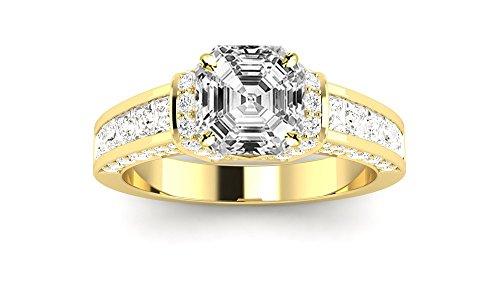 0.52 Ct Asscher Diamond - 5