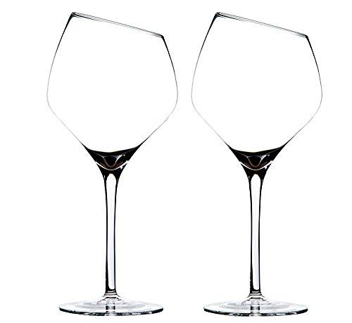 (Crystal Wine Glasses Handmade for Red Wine Glasses White Wine Glasses Lead-free Set of 2)