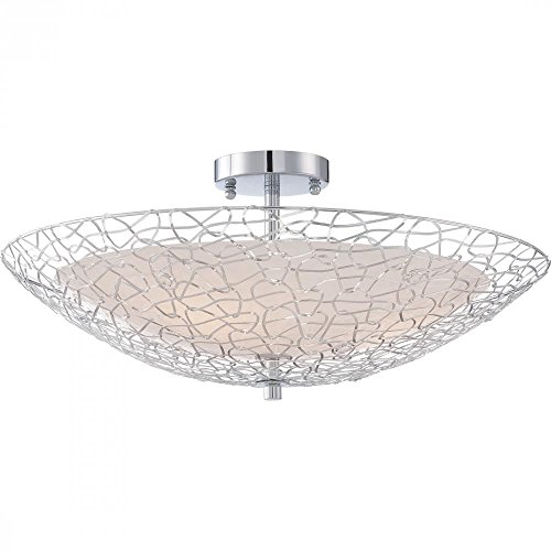 Quoizel PCAY1722C Platinum Collection Array Semi-Flush Mount