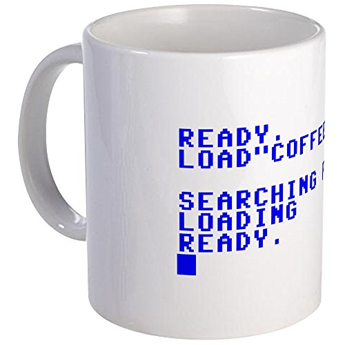 "Price comparison product image CafePress - Commodore 64 ""Load Coffee"" - Unique Coffee Mug,  11oz Coffee Cup"