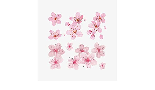 Tatuaje Sakura Tatuaje Ojos pegajosos Lágrimas Pequeñas flores ...