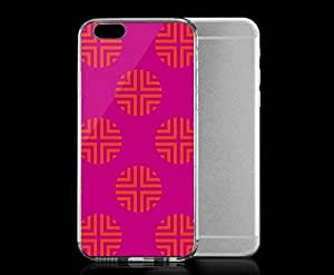 Light weight with strong PC plastic case for iPhone 5c Artists Robin Zingone Pink Dot. Robin Zingone??