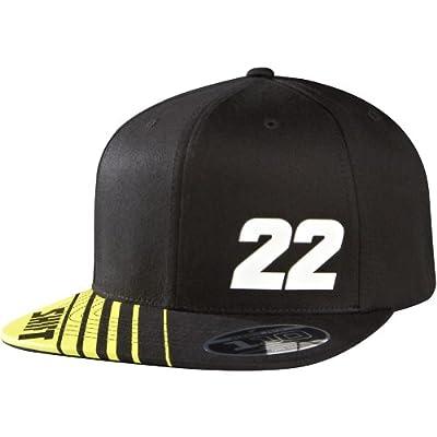 Shift Racing Mens Reed 22 110 Snapback Adjustable Hat, Black, One