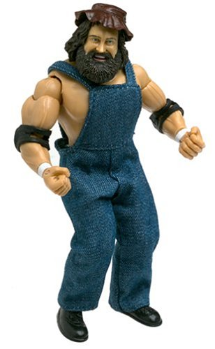 WWE Jakks Pacific Wrestling Classic Superstars Series 4 Action Figure Hillbilly Jim by Prannoi