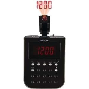 memorex projection alarm clock radio home. Black Bedroom Furniture Sets. Home Design Ideas