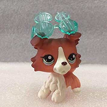 Grandes regalos Store Littlest Pet Shop lps Collie Pet Dane perros y gatos Collection Niño Chica Boy Figura Toy Loose Cute: Amazon.es: Hogar
