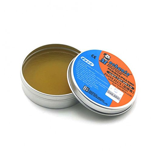 VIPFIX High Synthetic BGA Solder Flux Paste Activated Rosin Soldering Paste Flux Cream (50g or 80g) For PCB,BGA,SMD, PGA Repair Soldering Rework Station (80g)