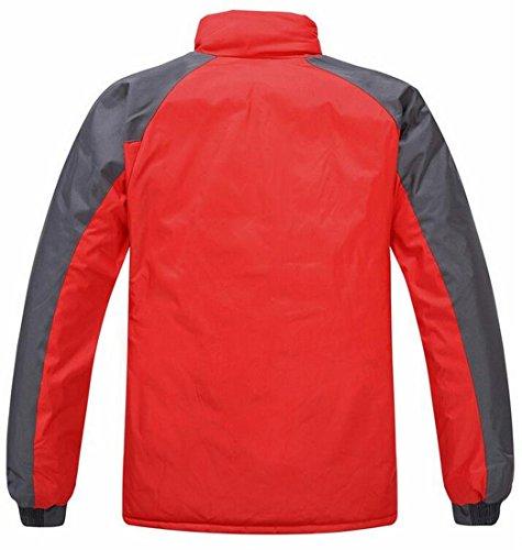 Rossa Alla Giacche Noi Montagna L Sci Coreana Giù Eku Colletto Esterno Caldo Da gwax1qqT7