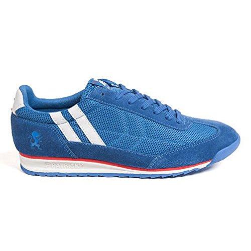 Patrick Hombre Tiempo Libre Zapatos/Zapatillas/Sport Heritage, Talla 46 (UK 11/US 12/cm 30.9), Royal Azul: Amazon.es: Zapatos y complementos