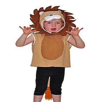 Cheadle - Disfraz de león infantil (CRI5709): Amazon.es: Juguetes ...