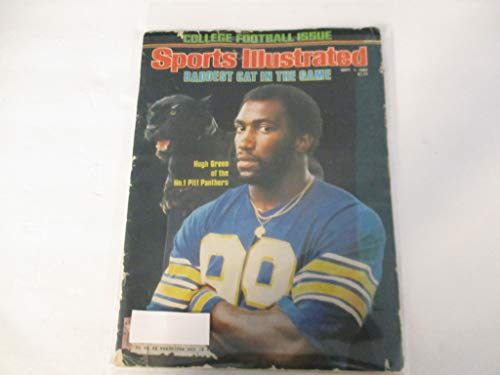 SEPTEMBER 1, 1980 SPORTS ILLUSTRATED MAGAZINE FEATURING HUGH GREEN OF THE NO. 1 PITTSBURGH PANTHERS *BADDEST CAT IN THE GAME* *COLLEGE FOOTBALL ISSUE*