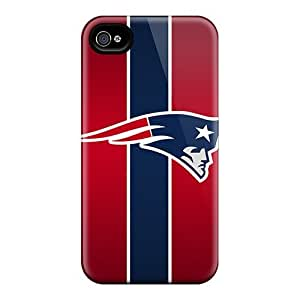 Tpu Shockproof/dirt-proof New England Patriots Covers Cases For Iphone(6 Plus)
