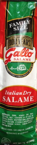 13oz Gallo Italian Dry Salami Chub #1 Selling Family Size