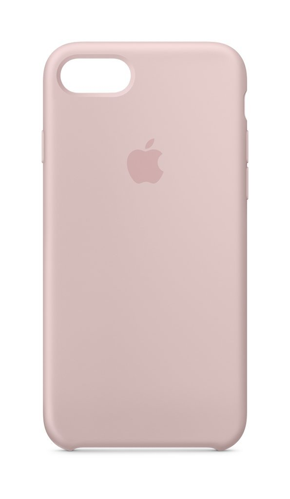 Apple Custodia in silicone (per iPhone 8 / iPhone 7) - Rosa sabbia
