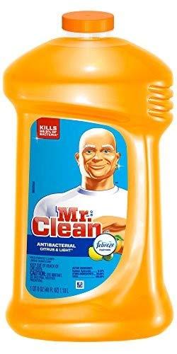 (Mr. Clean M. Net Citrus & Light Scent, Febreze Freshness Multi Purpose Cleaner 40 Fl. Oz, Pack of)