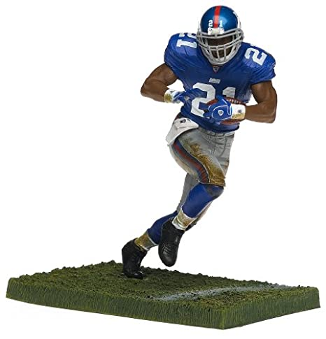 official photos 44c0e 89874 Tiki Barber New York Giants Blue Jersey McFarlane NFL Series 11 Six Inch  Action Figure