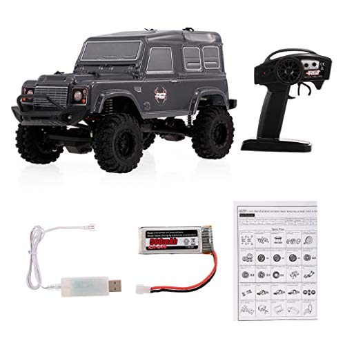 BaSeng RGT 136240 1/24 2.4G 4WD 15KM/H RC Rock Crawler Off-Road Buggy with Large Capacity Battery