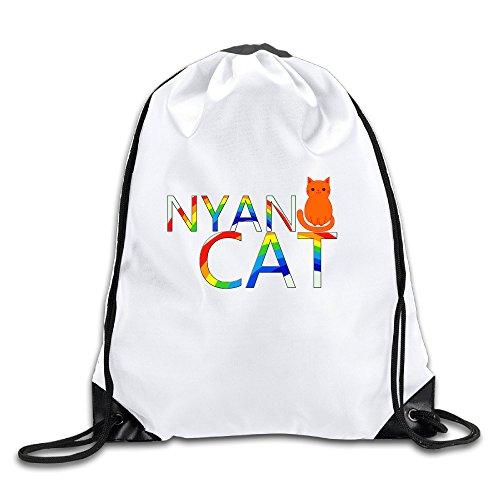 Jewelry Custom Cool (SSEE Custom RAINBOW CAT NYAN Cool Adult Bag White)