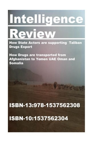 Intelligence Review- How State Actors are supporting  Taliban  Drugs Export: How Drugs are transported from Afghanistan to Yemen UAE Oman and Somalia