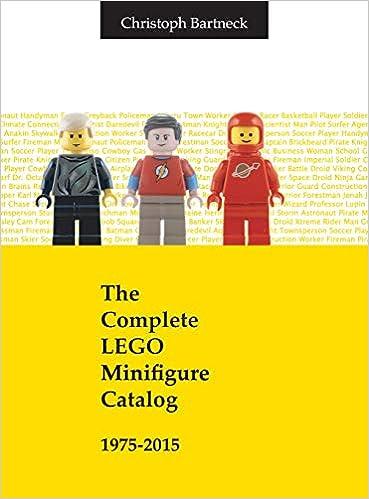 The Complete Lego Minifigure Catalog 1975 2015 Amazonde Christoph
