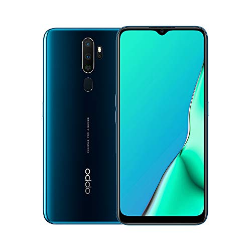 OPPO A9 2020 Snapdragon 665 6.5 inch 5000mAh Dual Sim 48MP Ultra Wide Quad Camera Smartphone, Marine Green