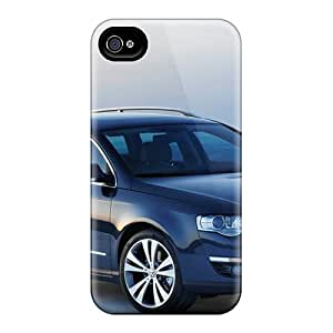 Slim Fit Tpu Protector Shock Absorbent Bumper Volkswagen Passat Variant 2006 Case For Iphone 4/4s