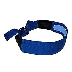 Radians RCS105 Arctic Skull Cooling Headband, Blue