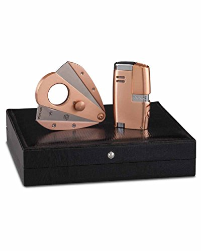 Rose Gold Limited Edition Vitara Cigar Lighter Xi3 Cutter in an Attractive Gift Box Warranty by Xikar