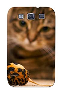 Nwy429GDBxR Case Cover Cat And Mouse Toy Compatible With Galaxy S3 Protective Case