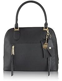 Brina Multi Compartment Dome Satchel Shoulder Bag