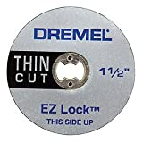 Dremel, EZ Lock Thin Cut, Cut off Wheels 5Pack