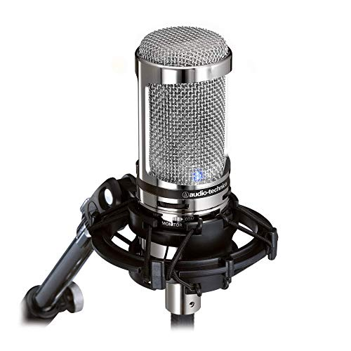 Audio-Technica AT2020USB+V Limited Edition Cardioid Condenser USB Microphone (Renewed)