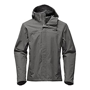 The North Face Men's Venture 2 Jacket Mid Grey Ripstop Heather - XL