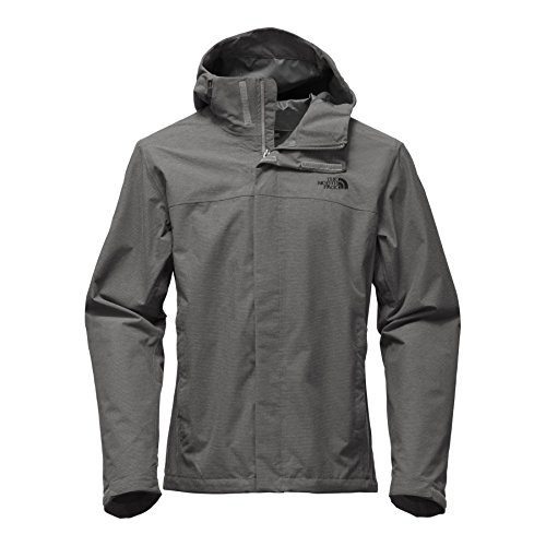 The North Face Mens Venture 2 Jacket Mid Grey Ripstop Heather - (The North Face Denali Mens)