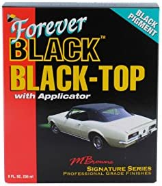 fa1225eadb Amazon.com  Forever Car Care Products FB813 BLACK Black Top Gel and ...