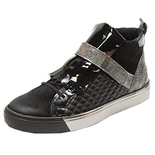 verniz B Shoes Fabienne 00439 metallic Schwarz Chukka Marc Damen Cow Suede Boots c AwFqxUp1