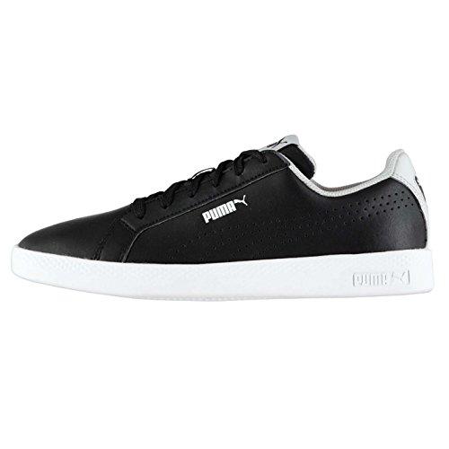 Officiel Perforé Pour Sneakers Femme Puma Smash Sports Baskets Chaussures Noir xwvxOP
