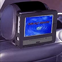 TFY Car Headrest Mount Car Holder for 9 Inch Swivel Screen Style Portable DVD Player