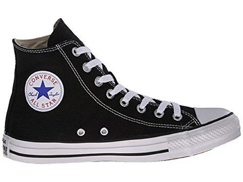 Mens C Taylor A / S Hi Sneakers (8,5 (uomo) / 10,5 (donna), Nero)