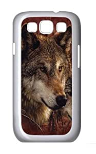 Forest Wolves Custom Samsung Galaxy I9300/Samsung Galaxy S3 Case Cover Polycarbonate White