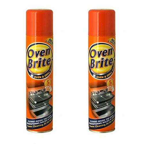 2 x Horno Brite Limpiador en Spray - Oven & Grill Cleaner - 300ml ...