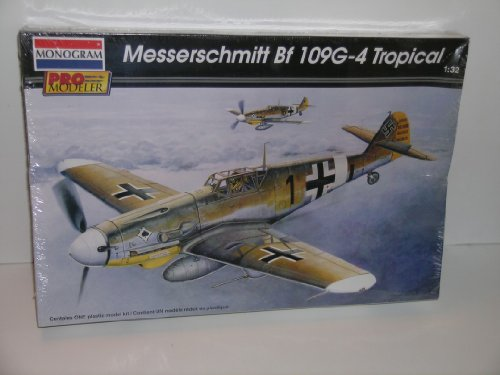 Monogram Pro Modeler WW II Messerschmitt Bf 109G-4 Fighter Aircraft---