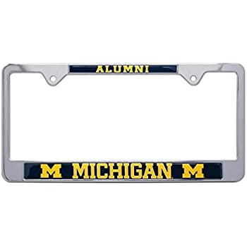 Amazon.com: Elektroplate University of Michigan License Plate Frame ...