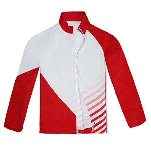 Giacometti Costume (Cuterole Anime Jacket Yuri!!! on Ice Christophe Giacometti Cosplay Costume Sportswear)
