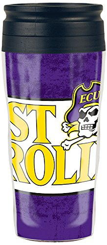 Wincraft NCAA East Carolina Pirates Travel Mug, 16 oz., T...